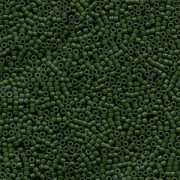 Miyuki Delica Perlen 1,6mm DB0797 Opaque Dyed matt Olive 5gr