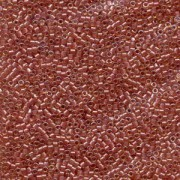 Miyuki Delica Perlen 1,6mm DB0913 Sparkling Salmon lined Topaz 5gr