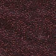 Miyuki Delica Perlen 2,2mm DBM0105 transparent Raspberry Gold 7,2 Gr.