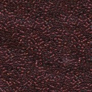 Miyuki Delica Perlen 1,6mm DB0105 transparent Raspberry Gold 5gr