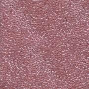 Miyuki Delica Perlen 1,6mm DB0106 transparent luster Mauve 5gr