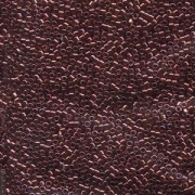 Miyuki Delica Perlen 1,6mm DB0116 transparent luster Garnet 5gr