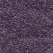 Miyuki Delica Perlen 1,3mm DBS0117 transparent luster Lavender Blue 5gr