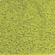 Miyuki Delica Perlen 1,6mm DB1266 transparent matt Lime ca 5gr