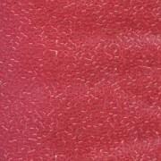 Miyuki Delica Perlen 1,6mm DB1308 transparent dyed dark Rose ca 5gr