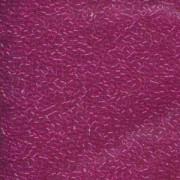 Miyuki Delica Perlen 1,6mm DB1310 transparent dyed Fuchsia ca 5gr