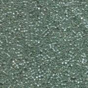 Miyuki Delica Perlen 1,6mm DB1484 Transparent Luster Light Moss Green ca 5gr
