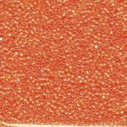 Miyuki Delica Perlen 2,2mm DBM0161 opaque rainbow Orange 7,2 Gr.