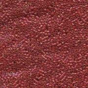Miyuki Delica Perlen 1,3mm DBS0162 opaque rainbow Red 5gr