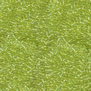Miyuki Delica Perlen 1,3mm DBS0174 transparent rainbow Chartreuse 5gr