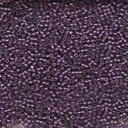 Miyuki Delica Perlen 1,6mm DB1850 Duracoat galvanized Eggplant ca 7,2 Gr.