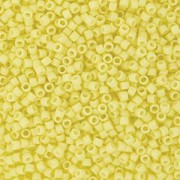 Miyuki Delica Perlen 1,6mm Duracoat dyed Opaque Light Lemon Ice DB2101 ca 7,2 gr