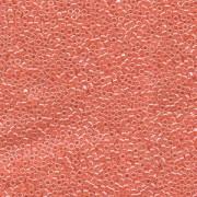 Miyuki Delica Perlen 2,2mm DBM0235 opaque luster Coral 7,2 Gr.
