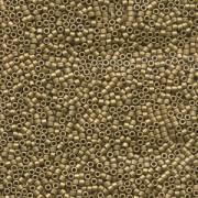Miyuki Delica Perlen 1,6mm DB0371 metallic matte Golden Olive 5gr