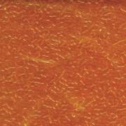 Miyuki Delica Perlen 2,2mm DBM0703 transparent Orange 7,2 Gr.