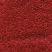 Miyuki Delica Perlen 1,3mm DBS0723 opaque Red 5gr