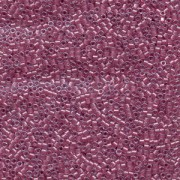 Miyuki Delica Perlen 1,6mm DB0902 inside colorlined with sparkle Crystal Rose 5gr