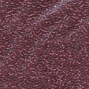 Miyuki Delica Perlen 1,6mm DB0924 inside colorlined with sparkle Crystal Cranberry 5gr
