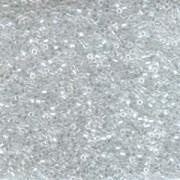 Miyuki Delica Perlen 1,6mm Hexcut DBC0050 luster Crystal 5gr