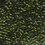 Miyuki Delica Perlen 3mm DBL0011 metallic Olive ca 6,8 Gr.