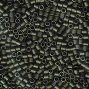 Miyuki Delica Perlen 3mm DBL0311 metallic matte Olive Green ca 6,8 Gr.