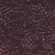 Miyuki Delica Perlen 3mm DBL0711 transparent Lilac ca 6,8 Gr.