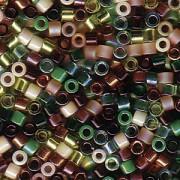 Miyuki Delica Perlen 2,2mm Mix07 Earthtone 7,2 Gr.