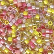 Miyuki Delica Perlen 2,2mm Mix09 Lemonade 7,2 Gr.