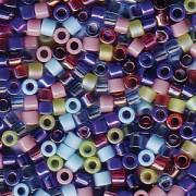 Miyuki Delica Perlen 2,2mm Mix14 Gemtones 7,2 Gr.