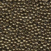 Miyuki Tropfen Perlen 3,4mm 0457 metalic Bronze 10gr
