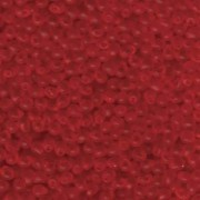 Miyuki Tropfen Perlen 3,4mm 0140F transparent Red ca 10gr