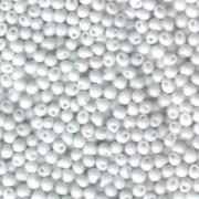 Miyuki Tropfen Perlen 3,4mm 0402FR opaque White 10gr
