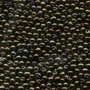 Miyuki Tropfen Perlen 3,4mm 0458 metallic Dark Olive 10gr