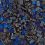 Miyuki Halb Tila Perlen 2,2x5mm matt Azuro HTL4556 ca 7,8gr