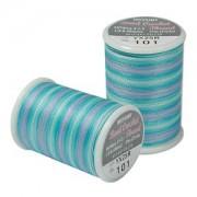 Miyuki Häkel Perlenfaden Farbverlaufgarn Carribean Blue 25m