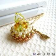 Miyuki Cake Charm Kit Fresh Lemon Tart
