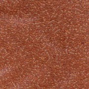Miyuki Delica Perlen 1,6mm DB1302 transsparent dyed light Peach ca 5gr
