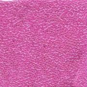Miyuki Delica Perlen 1,6mm DB0247 lined Crystal Fuchsia 5gr