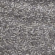 Miyuki Delica Perlen 1,6mm DB0336 matt Palladium Plated 5gr