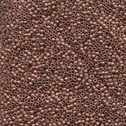 Miyuki Delica Perlen 1,6mm DB0340 matt Copper Plated 5gr