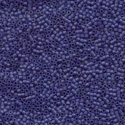 Miyuki Delica Perlen 1,6mm DB0377 matt metallic dark Blue Grey 5gr