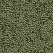 Miyuki Delica Perlen 1,6mm DB0391 matt opaque Olive 5gr