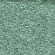Miyuki Delica Perlen 1,6mm DB0414 dyed galvanized Green 5gr