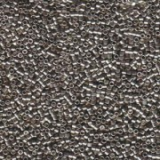 Miyuki Delica Perlen 1,6mm DB0436 galvanized Pewter 5gr