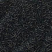 Miyuki Delica Perlen 1,6mm DB0613 silverlined dark Grey 5gr