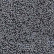 Miyuki Delica Perlen 1,6mm DB0652 dyed opaque Grey 5gr