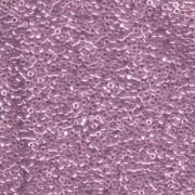 Miyuki Delica Perlen 1,6mm DB1224 transparent luster Mauve ca 5gr