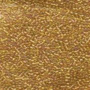 Miyuki Delica Perlen 1,6mm DB1241 transparent rainbow Marigold ca 5gr