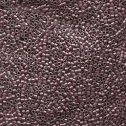 Miyuki Delica Perlen 1,6mm DB0462 galvanized Grey Mauve 5gr