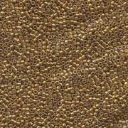 Miyuki Delica Perlen 1,6mm DB0505 metallic 24 Karat Gold Plated Bronze 5gr